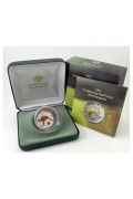 2005 1oz Silver Kangaroo Selectively Gold Plated Proof Coin