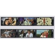 2014 Great British Films Set of 6 Stamps MUH