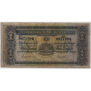 1913 - 18 Commonwealth of Australia One Pound Banknote
