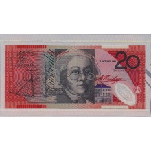 1994 Australian Low numbered $20 Banknote