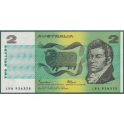 $2 Australian Banknote Uncirculated from last issue