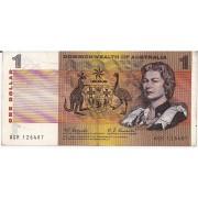 1968 Commonwealth of Australia One Dollar Banknote