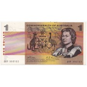 1969 Commonwealth of Australia One Dollar Banknote