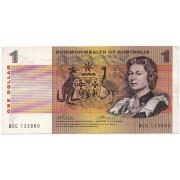 1972 Commonwealth of Australia One Dollar Banknote