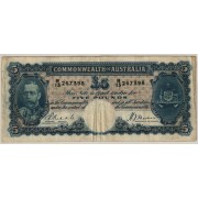 1933 Commonwealth of Australia George V Five Pound Banknote