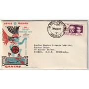 1966 Sydney-Mexico City Qantas First Flight Cover