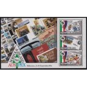 """1984 Norfolk Island """"Ausipex"""" Stamp M/S"""
