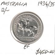 1934/35 Melbourne Centenary Florin