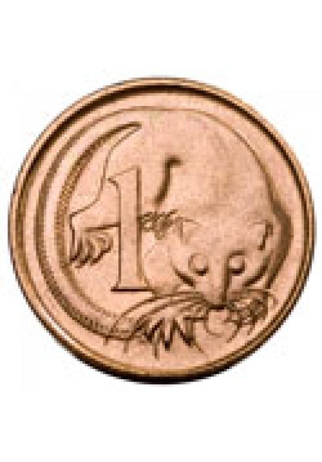 1988 1 Cent Australian Mint Roll