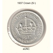 1937 Australian Crown - aUNC