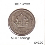 1937 Australian Crown