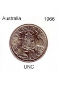 1966 Australian 50 cent Uncirulated Coin