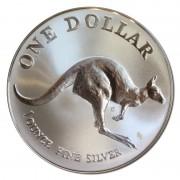 1993 I oz Silver Kangaroo uncirculated Coin