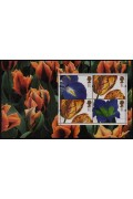 1997 Great Britain - Greeting Stamps Floral Paintings