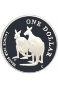 1999 1 oz Silver Kangaroo Proof Dollar