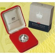 2000 Royal Visit 50 Cent Silver Proof Coin