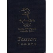 2000 Sydney 2000 Olympic Medallion Series Passport