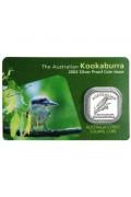 2002 1/2oz Silver Proof Kookaburra coin