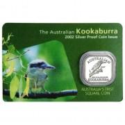 2001 1/2oz Silver Proof Kookaburra coin