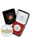 2002 $1 Subscription Melbourne Mint Silver Proof Coin