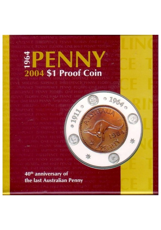 2004 40th Anniversary of the Last Penny Silver Dollar