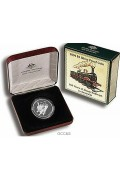 2004 $5 Silver 150 Years of Steam Railways in Australia
