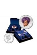 2006 $1 Dame Edna Everage 50th Anniversary 1oz Coloured Silver Proof Coin