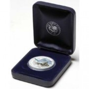 2005 AAT Leopard Seal 1oz Silver Proof Coin