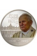 2005 Pope John Paul 11 1oz Silver Proof Coin