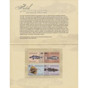 2006 Fish of the Antarctic Territory Stamp Issue