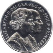 2007 UK Diamond Wedding Uncirculated Crown