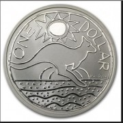 2009 Frosted Uncirculated Silver Kangaroo - Ken Done