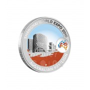 2010 Shanghai World Expo 1oz Silver Pavilion Coin