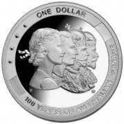 2010 Brisbane ANDA Coin Show Silver Proof Dollar