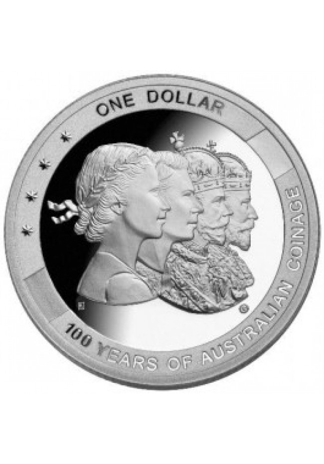 2010 Brisbane ANDA Coin Show Silver Proof Dollar