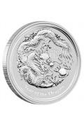 2012 1oz Silver Bullion Coin - Year of the Dragon