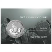 2012 $1 Fine Silver FRUNC Coin – Mareeba Rock-Wallaby