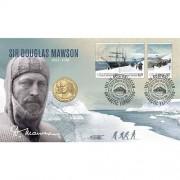 2012 Inspirational Australians – Sir Douglas Mawson Stamp & Coin Cover
