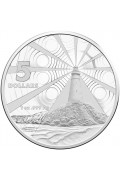 2015 $5 Fine Silver Frosted Uncirculated Australian Lighthouse Coin