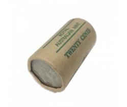 1981 Australian 20 Cent Mint Roll