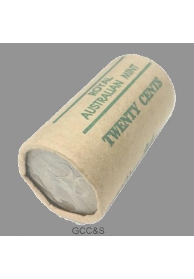 1968 20 Cent Australian RAM Mint Roll