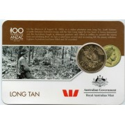2016 100 Years of Anzac 25 Cent Uncirculated Coin - Long Tan