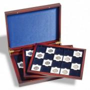 Presentation case VOLTERRA TRIO de Luxe, for 60 QUADRUM Coin Capsules