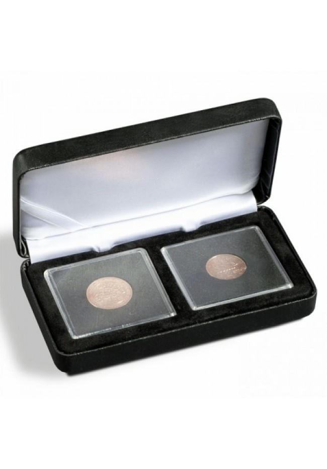 Nobile Coin Case for 2 Quadrum Coin Holders