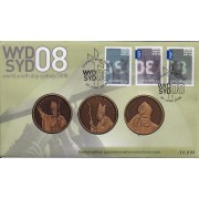2008 World Youth Day Limited Edition Medallion Cover
