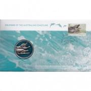 2009 WWF Dolphins of the Australian Coastline Stamp & Medallion Cover
