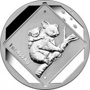 2014 Australian Road Sign Series - The Koala 1oz Silver Uncirculated Coin