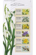 2014 GB Spring Blooms Post & Go Stamps