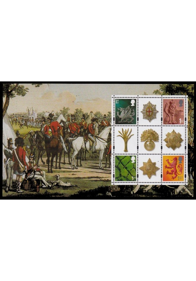 2003 Great Britain Regional Issue Block