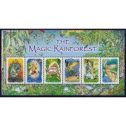 2002 The Magic Rainforest Mini Sheet